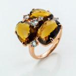 anillo piedras