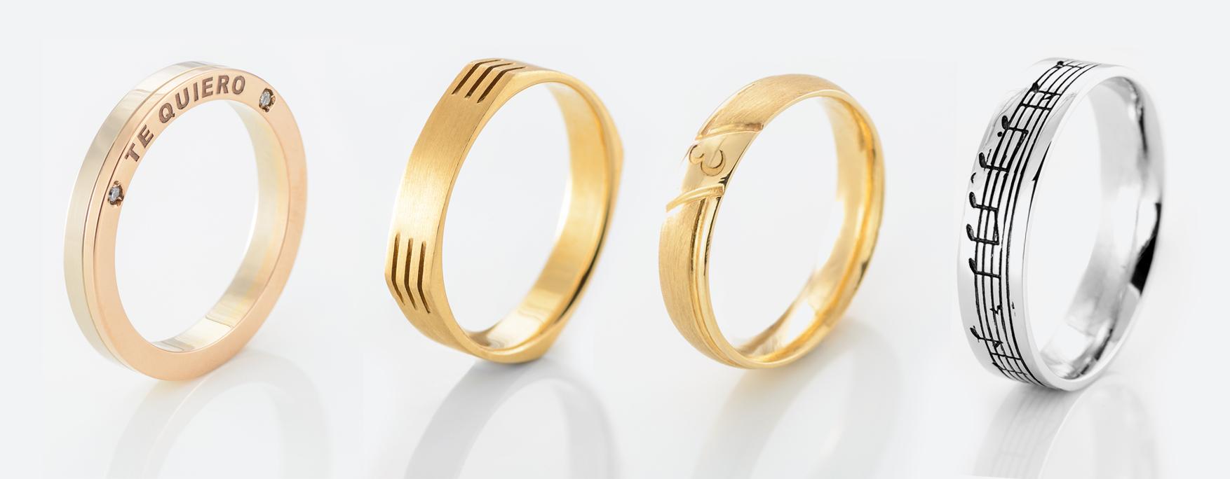 alianzas boda